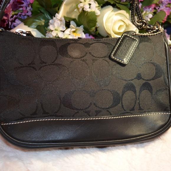 Coach Handbags - SuPer Cute Black Coach mini bag